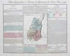 Carte originale du Haut Rhin