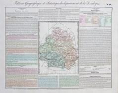 Carte originale de la Dordogne