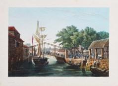 Gravure ancienne de Malacca