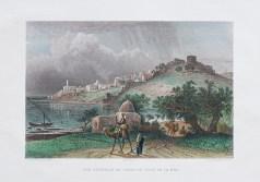 Gravure ancienne - Sidon - Saïda