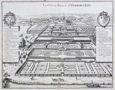Plan ancien de Saint Germain en Laye