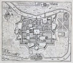 Plan ancien de Charleville-Mézières