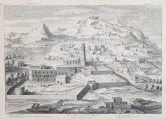 Gravure ancienne de Nazareth