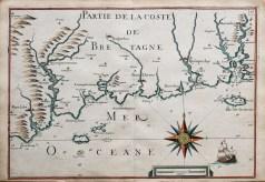 Carte Marine ancienne de Pont-Aven