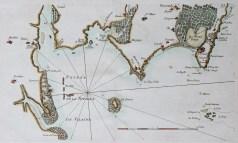 Carte marine ancienne du Croisic