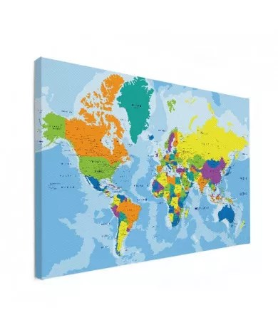 Carte Du Monde Grand Format : carte, monde, grand, format, Tableau, Carte, Monde, RÉDUCTION!