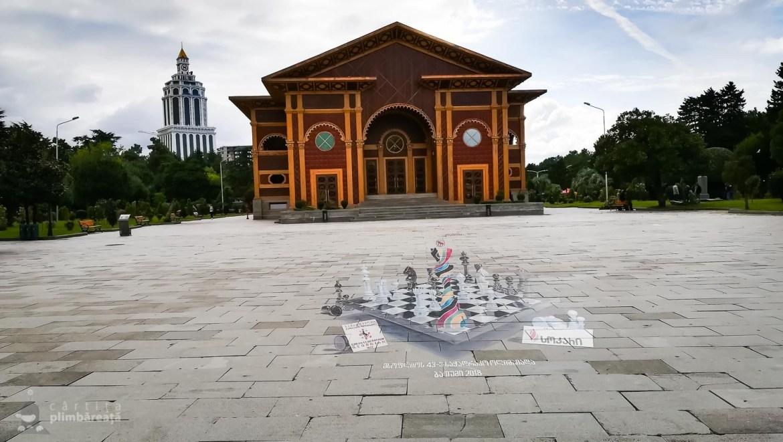 Graffiti cu Olimpiada de sah + Teatrul de vara.