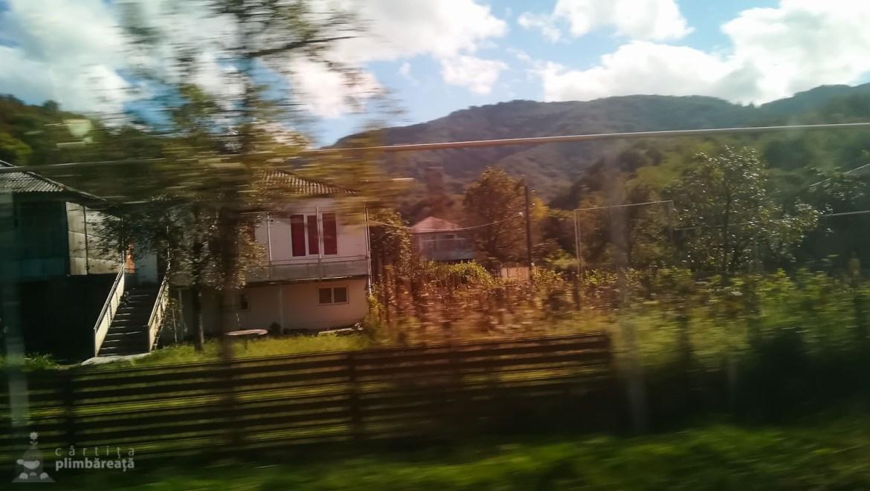 Din fuga masinii. Cam asa arata zonele rurale.