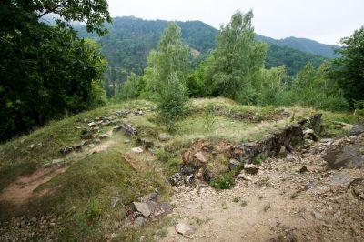 Cetatea dacica de la Capalna
