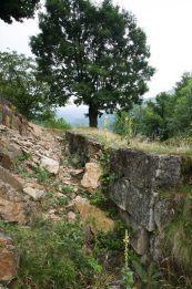 Murus dacicus - Cetatea dacica de la Capalna