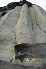 Coloanele de bazalt de la Racos, Muntii Persani