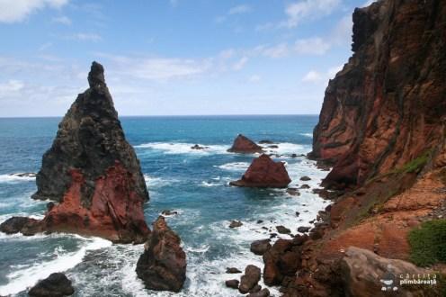 Inca un golf inspumat - Madeira - peninsula Sao Lourenco