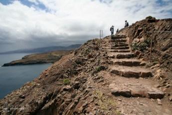 Traseu amenajat - Peisaj superb si trasee sigure - Madeira - Peninsula Sao Laurenco