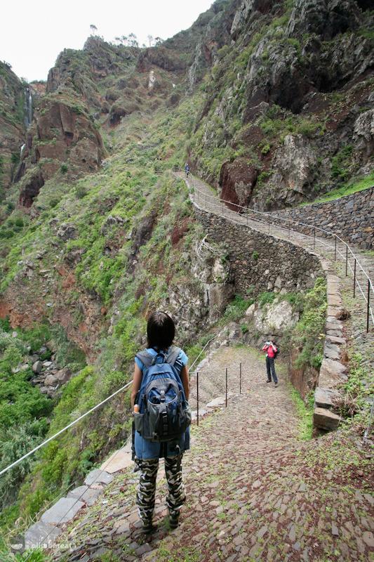 Asa arata un traseu amenajat in Madeira