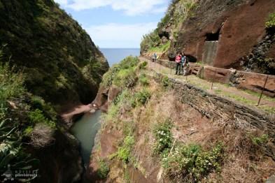 Canionul din apropiere de Paul do Mar
