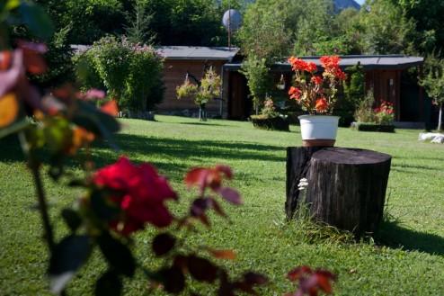 Gradina bine pusa la punct - Pensiune Camping Gyopar