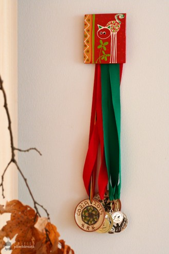 Medalia de Horezu de la Cozia Mountain Run - concurs de alergare montana