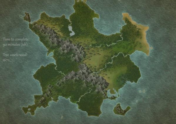 AoA Trees Example Map