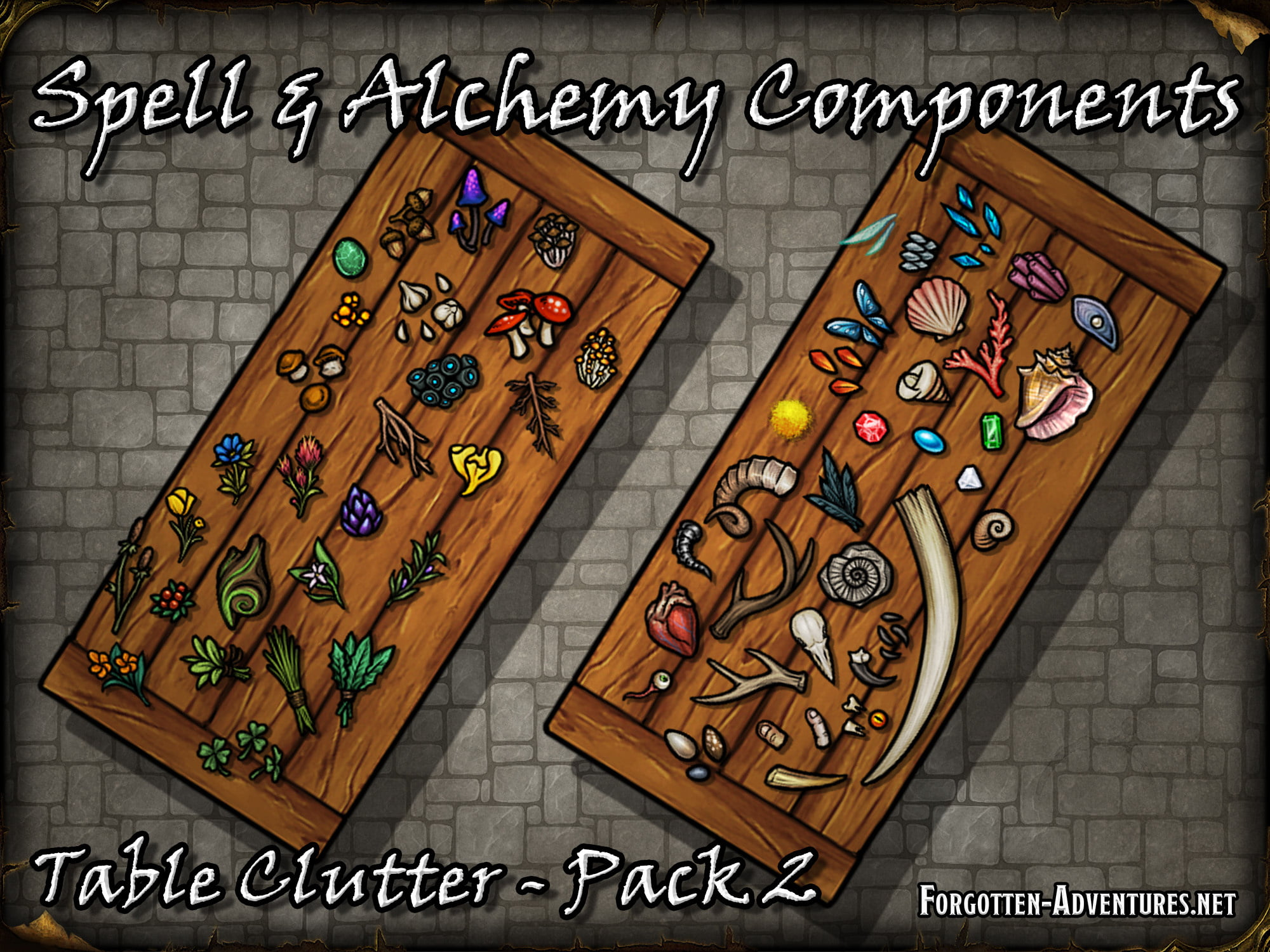 Table Clutter – Pack 2