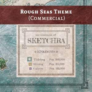 Rough Seas Theme Preview