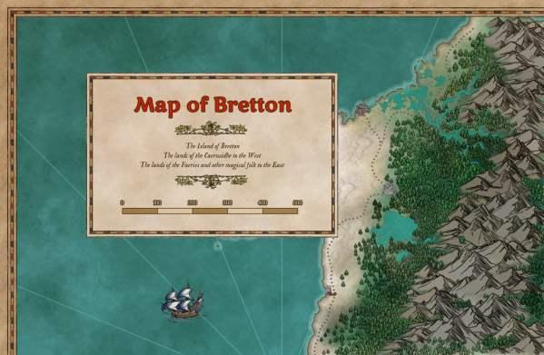 Striped frame & box map sample pack