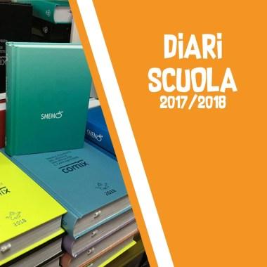 Diari |  Agende scolastiche 2017/2018
