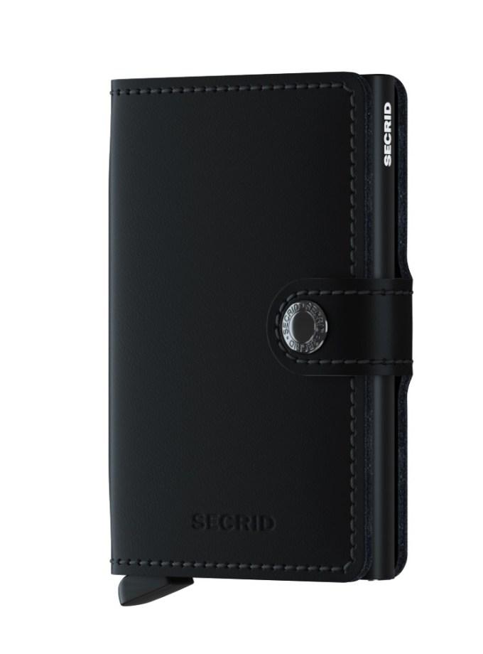 Secrid - Cardprotector - Mini Wallet - Collezione 2021 - Nero Opaco - Cartoleria Rossi Mantova dal 1927