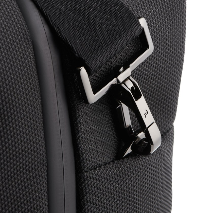 Porsche Design - Roadster Nylon Weekender - Cartoleria Rossi Mantova dal 1927 - Elegante borsa da weekend in nylon impermeabile e pelle liscia. La moderna borsa da viaggio da uomo con attacco per trolley che colpisce per il suo design esclusivo.