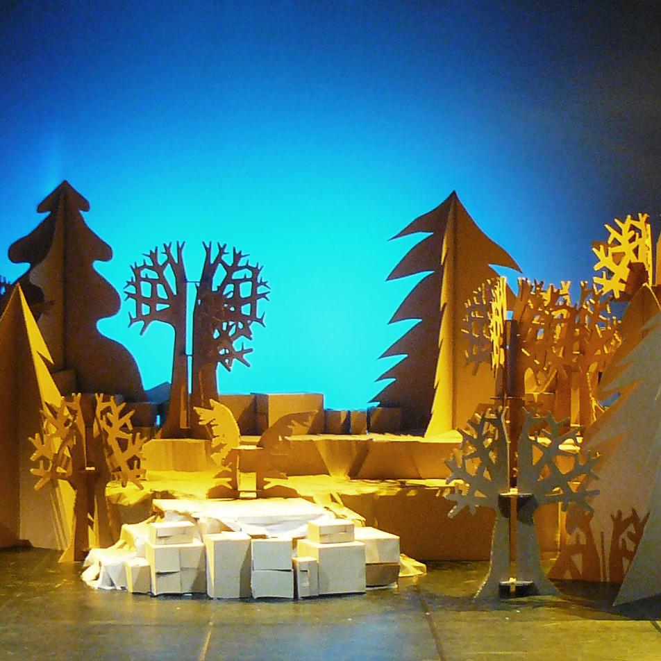 Escenografa Opera Hansel y Gretel Valencia