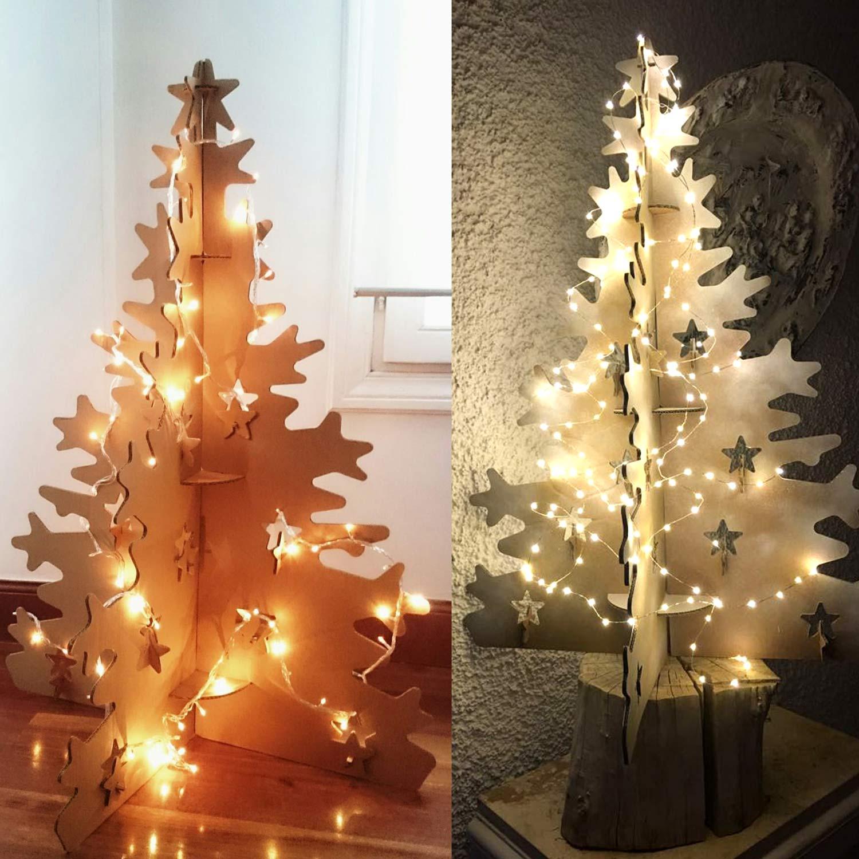 Tienda KLAUS Rbol De Navidad De Cartn Original Y