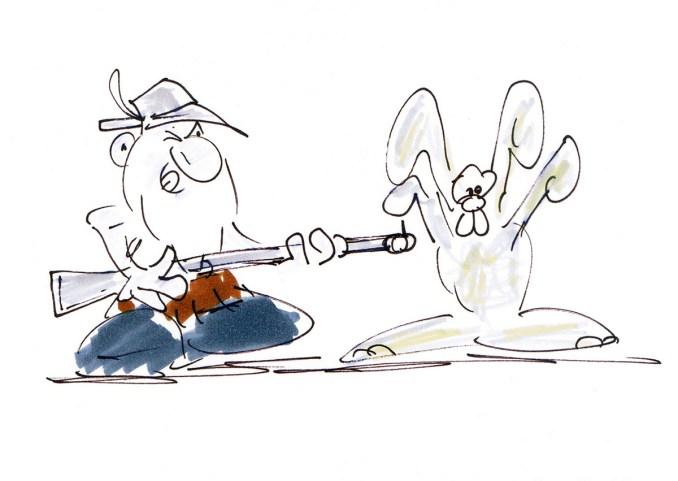 ostherse cartoon