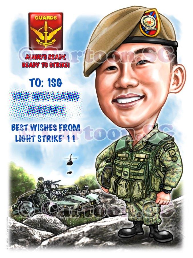 20191229-Caricature-Singapore-digital-army-saf-vehicle-guards-helmet