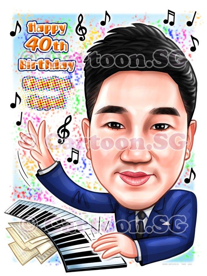 20200129-Caricature-Singapore-digital-birthday-musician-gift-piano