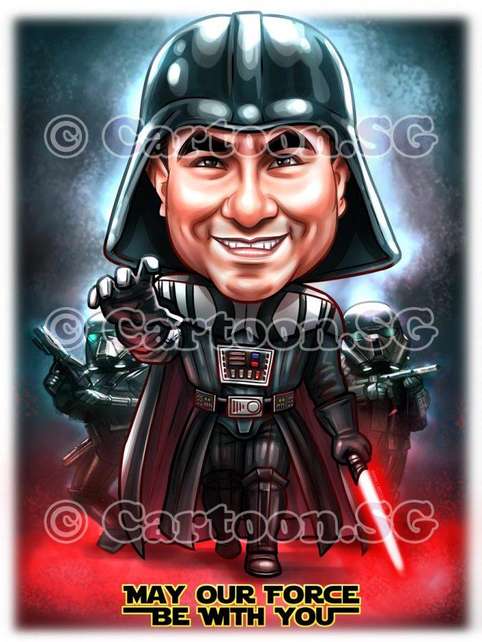 Dark Vader StarWars Fan