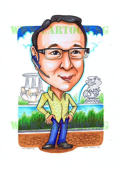 Caricature gift