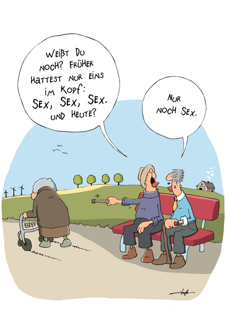 Thomas Luft, Cartoon, Lustig, Sex