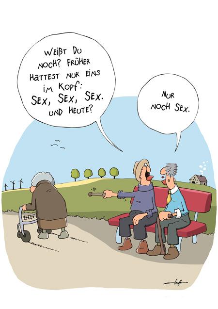 Thomas Luft, Cartoon, Lustig, Sex