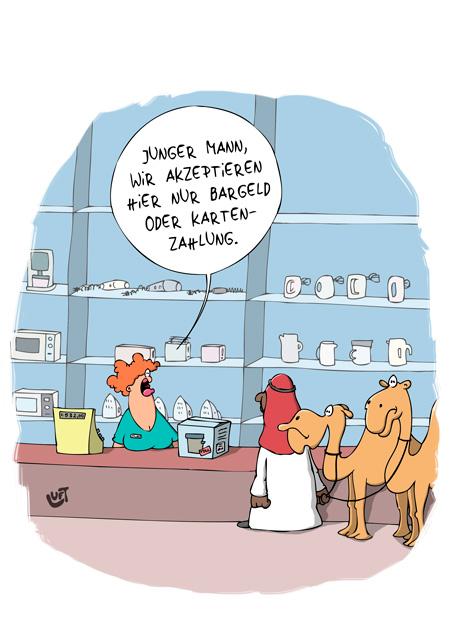 Thomas Luft, Cartoon, Lustig, Bezahlung