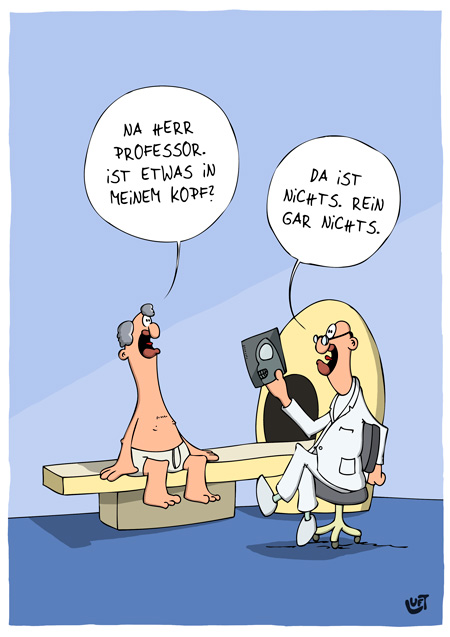 Thomas Luft, Cartoon, Lustig, MRT