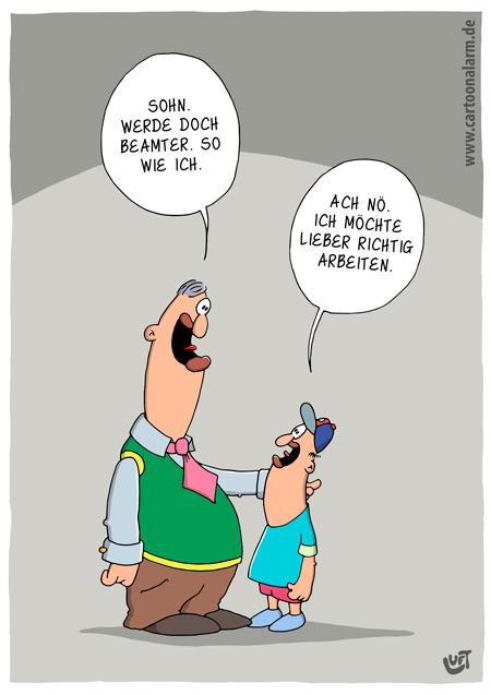Cartoon, Thomas, lustig, Beruf