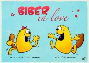 Thomas Luft, Cartoon, lustig, Karte