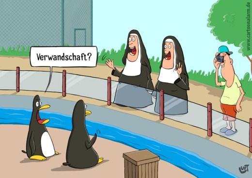 Thomas Luft, Cartoons, lustig, Verwandtschaft