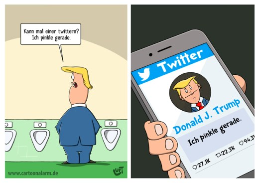 Thomas Luft, Cartoon, lustig, Twitter