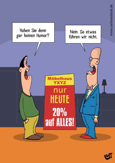 Thomas Luft, Cartoon, lustig, Humor