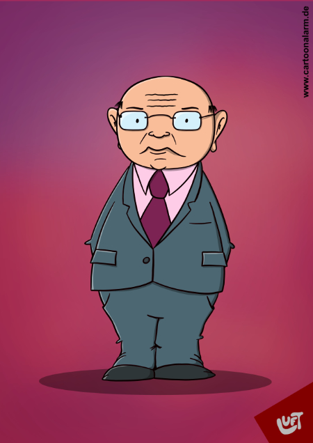 Karikatur von Gernot Hassknecht gezeichnet von Thomas Luft