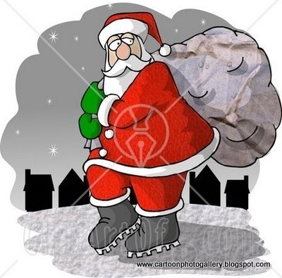 Santa Claus Cartoon And Stuff