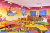 Wall Paint Designs For School - k Wall Decal