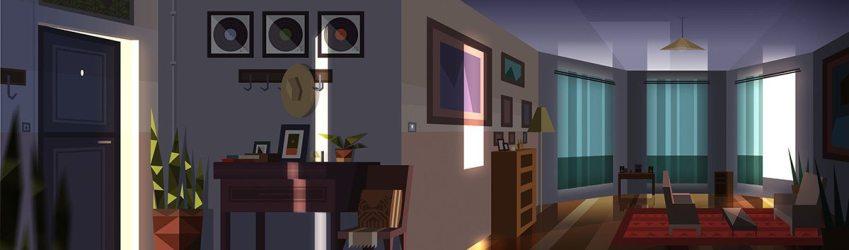 animated background concept kevin interior lyft arthur room artist paperman dart kahrs combined director short john credit chromosphere