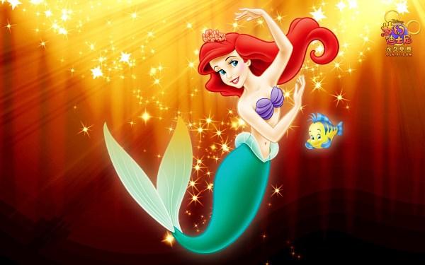 Cute Little Mermaid Wallpaper Desktop