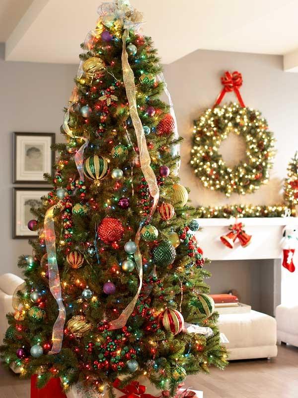 Simple Christmas Tree Decoration Ideas